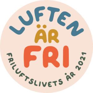 Logga för Friluftslivets år.